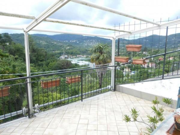 Casa indipendente in vendita a Rapallo, San Pietro Di Nonella, Con giardino, 130 mq - Foto 52