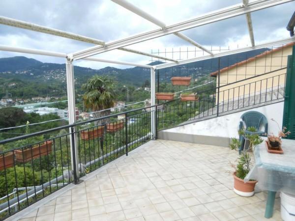 Casa indipendente in vendita a Rapallo, San Pietro Di Nonella, Con giardino, 130 mq - Foto 98