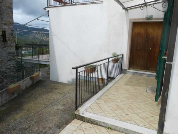 Casa indipendente in vendita a Rapallo, San Pietro Di Nonella, Con giardino, 130 mq - Foto 83