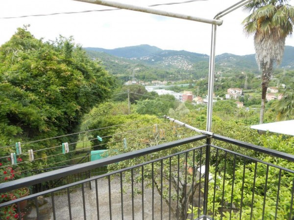 Casa indipendente in vendita a Rapallo, San Pietro Di Nonella, Con giardino, 130 mq - Foto 30