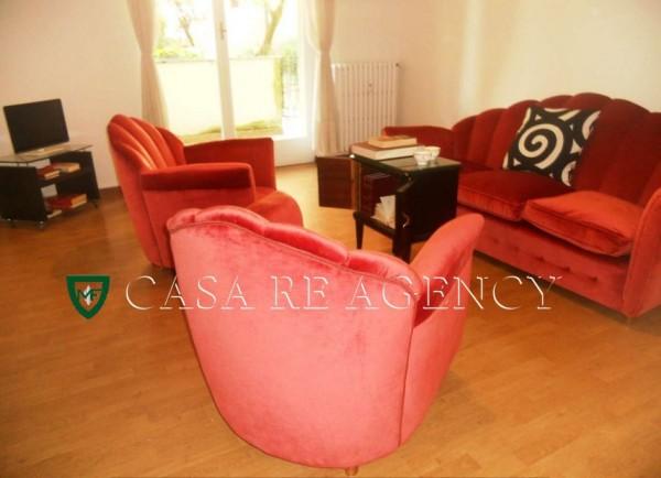 Appartamento in vendita a Varese, Biumo Superiore, Arredato, con giardino, 100 mq - Foto 5