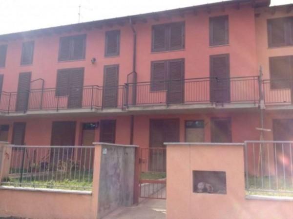 Villetta a schiera in vendita a Varese, Viale Belforte, Con giardino, 190 mq