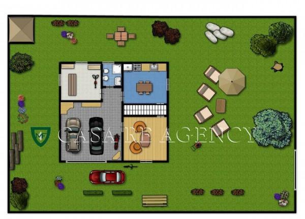 Villa in vendita a Induno Olona, Con giardino, 266 mq - Foto 2