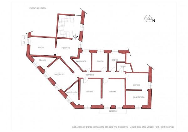 Appartamento in vendita a Genova, 205 mq - Foto 2