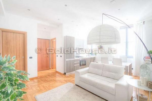 Appartamento in affitto a Milano, Cattolica/sant'ambroggio, Arredato, 90 mq