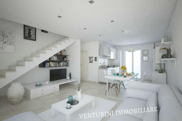 Appartamento in vendita a Roma, Valle Muricana, Con giardino, 90 mq - Foto 14