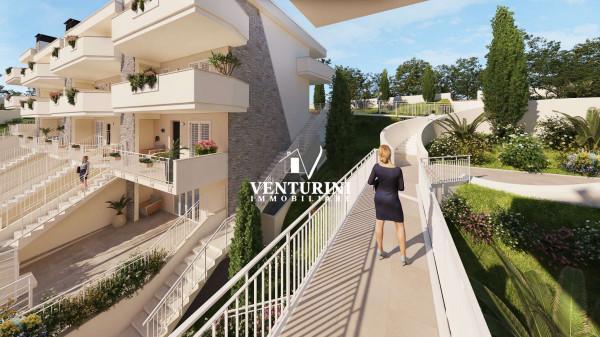 Appartamento in vendita a Roma, Valle Muricana, Con giardino, 90 mq - Foto 30