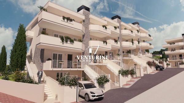 Appartamento in vendita a Roma, Valle Muricana, Con giardino, 90 mq - Foto 35