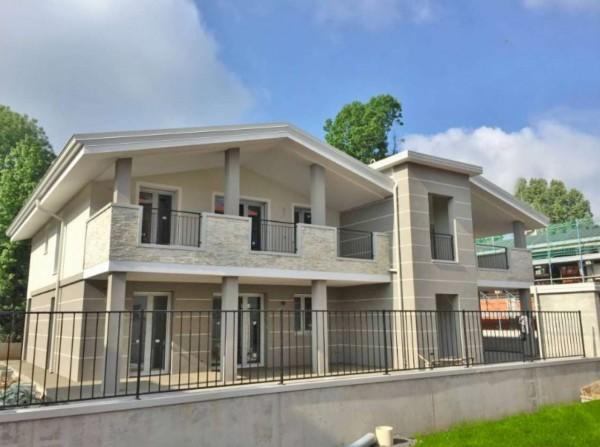 Villa in vendita a Cassano d'Adda, Con giardino, 115 mq