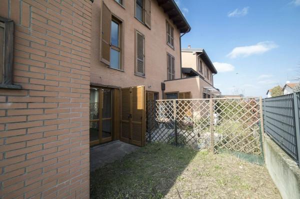 Villetta a schiera in vendita a Corbetta, Corbetta, Con giardino, 240 mq - Foto 42