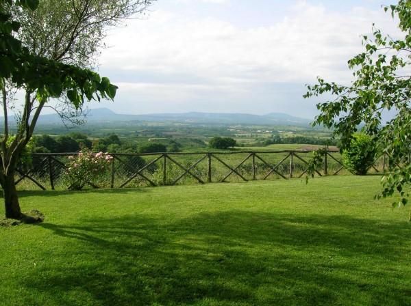 Villa in vendita a Sutri, Golf Nazionale, Con giardino, 355 mq - Foto 1