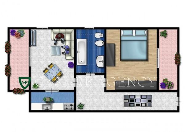 Appartamento in affitto a Induno Olona, Con giardino, 78 mq - Foto 2