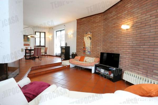 Villa in vendita a Alpignano, Confine Rivoli, Con giardino, 219 mq - Foto 20