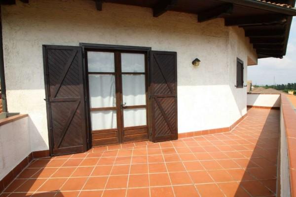Villa in vendita a Alpignano, Confine Rivoli, Con giardino, 219 mq - Foto 29