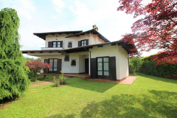 Villa in vendita a Alpignano, Confine Rivoli, Con giardino, 219 mq - Foto 1