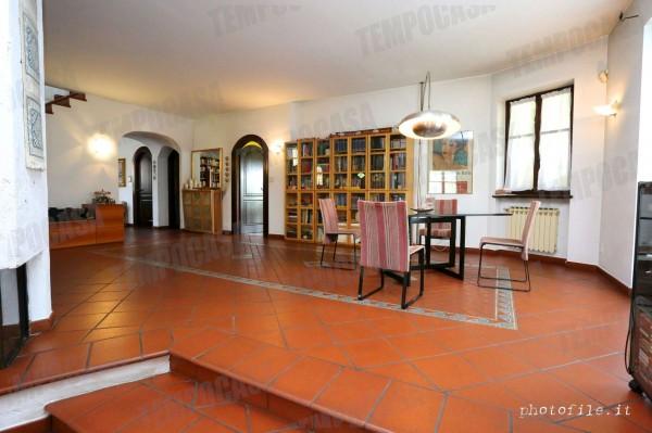 Villa in vendita a Alpignano, Confine Rivoli, Con giardino, 219 mq - Foto 21