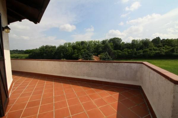 Villa in vendita a Alpignano, Confine Rivoli, Con giardino, 219 mq - Foto 28