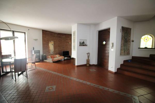 Villa in vendita a Alpignano, Confine Rivoli, Con giardino, 219 mq - Foto 24