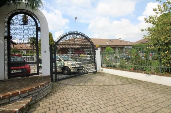 Villa in vendita a Alpignano, Confine Rivoli, Con giardino, 219 mq - Foto 31