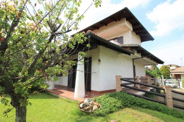 Villa in vendita a Alpignano, Confine Rivoli, Con giardino, 219 mq - Foto 37