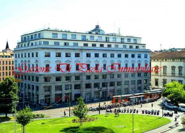 Ufficio in affitto a Milano, Piazza Fontana, 104 mq