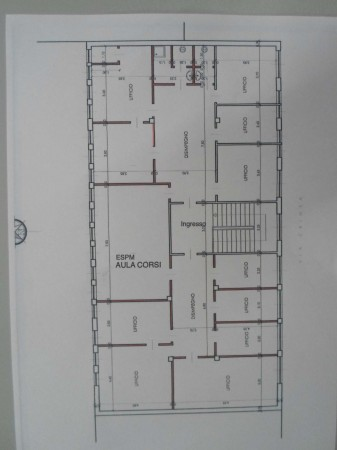 Ufficio in vendita a Collegno, Borgata Paradiso, 300 mq - Foto 2