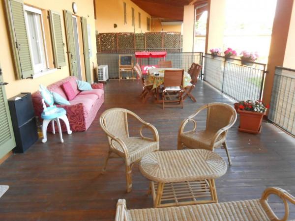 Appartamento in vendita a Trescore Cremasco, Centro, 104 mq