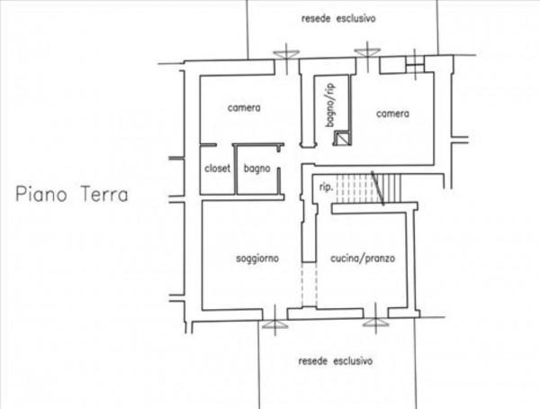Appartamento in vendita a Monteroni d'Arbia, Con giardino, 145 mq - Foto 15