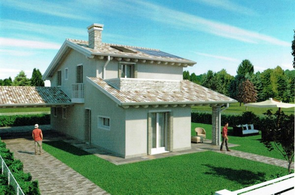 Villa in vendita a Albignasego, Con giardino, 180 mq