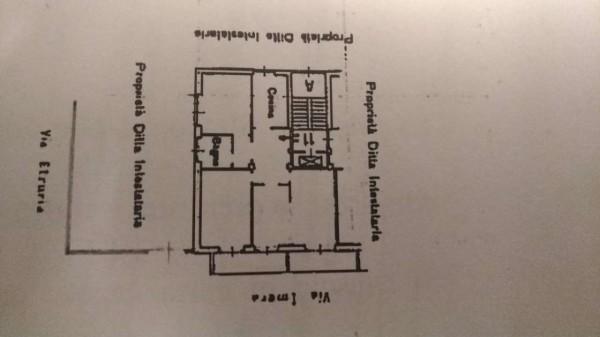 Appartamento in affitto a Roma, Re Di Roma, Arredato, con giardino, 85 mq - Foto 2