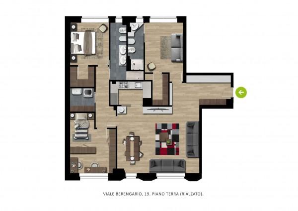 Appartamento in vendita a Milano, Fiera, 140 mq - Foto 2