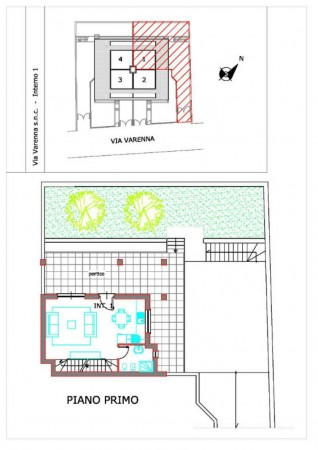 Villa in vendita a Roma, Valle Muricana, Con giardino, 140 mq