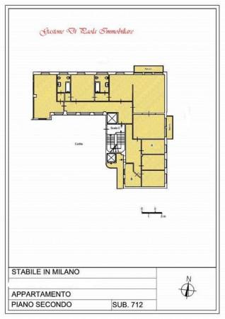 Appartamento in affitto a Milano, Centro Storico, Con giardino, 211 mq - Foto 2