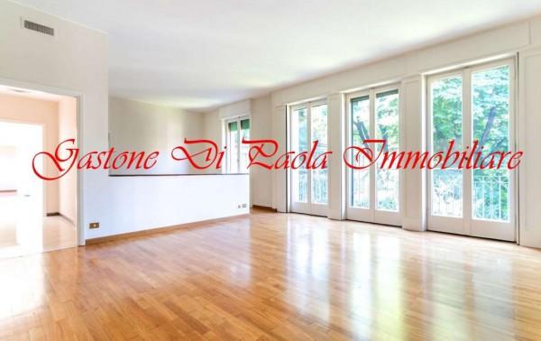 Appartamento in affitto a Milano, Centro Storico, Con giardino, 211 mq
