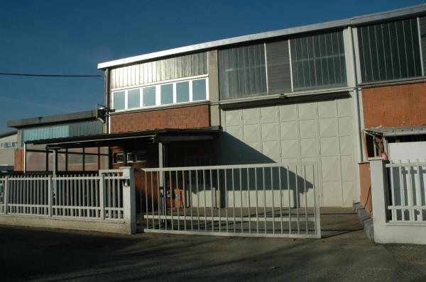 Capannone in affitto a Alpignano, Industriale, 300 mq