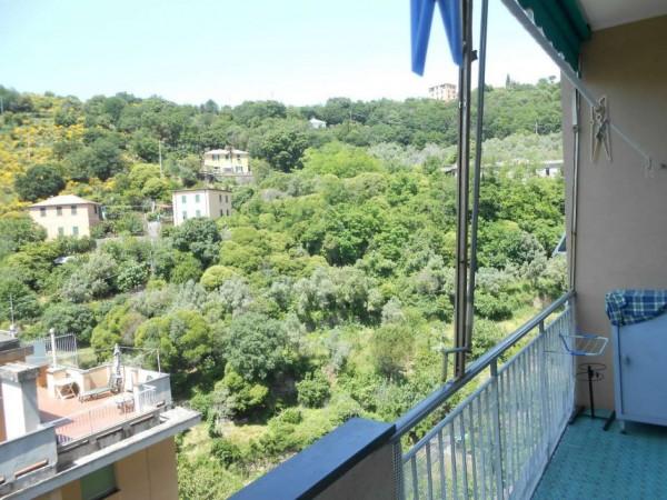 Appartamento in affitto a Genova, Adiacenze Monoblocco, Arredato, con giardino, 120 mq - Foto 13