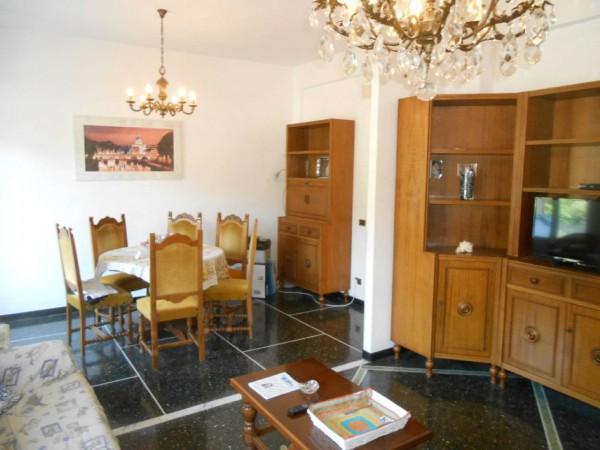 Appartamento in affitto a Genova, Adiacenze Monoblocco, Arredato, con giardino, 120 mq - Foto 48