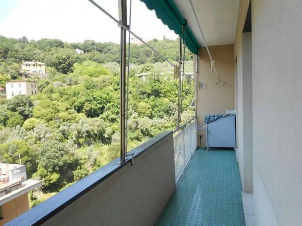 Appartamento in affitto a Genova, Adiacenze Monoblocco, Arredato, con giardino, 120 mq - Foto 12