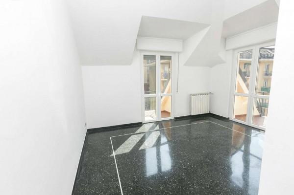 Appartamento in vendita a Genova, Vesuvio, 110 mq