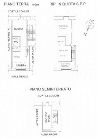 Appartamento in affitto a Milano, Tibaldi Meda, Arredato, con giardino, 55 mq - Foto 2