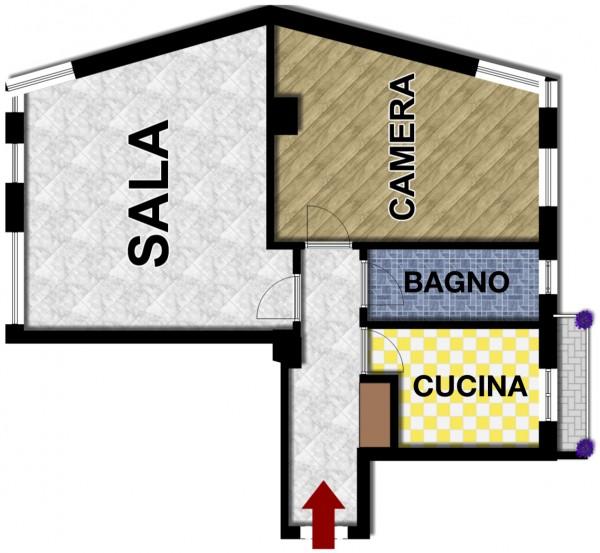 Appartamento in vendita a Lavagna, Centro, 74 mq