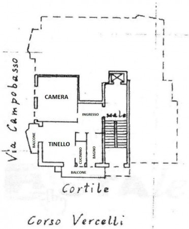 Appartamento in affitto a Torino, Rebaudengo, 58 mq - Foto 2