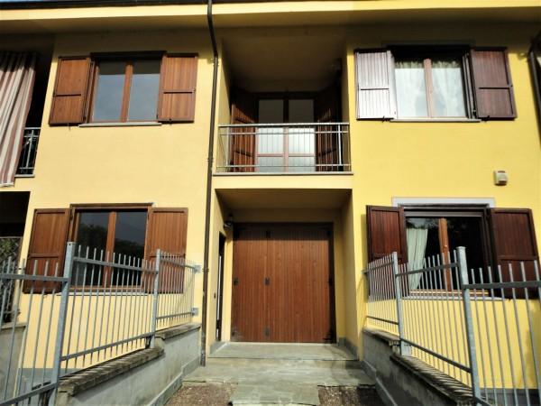 Villetta a schiera in vendita a Alessandria, Spinetta Marengo, Con giardino, 150 mq