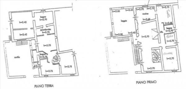 Villa in vendita a Monteriggioni, Con giardino, 350 mq - Foto 23