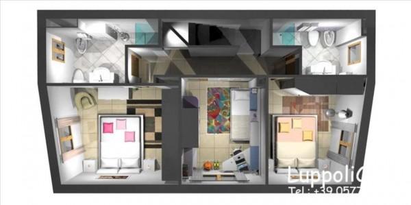Appartamento in vendita a Siena, Con giardino, 198 mq - Foto 3