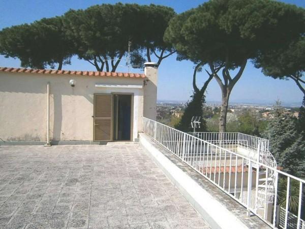 Villa in vendita a Roma, Anagnina, 380 mq