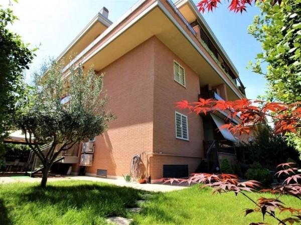 Appartamento in vendita a Roma, Romanina, Con giardino, 95 mq
