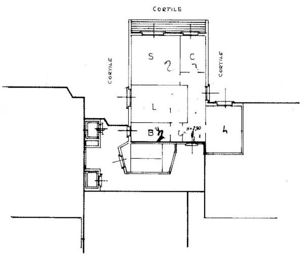 Appartamento in vendita a Milano, Cechov, Con giardino, 98 mq - Foto 4