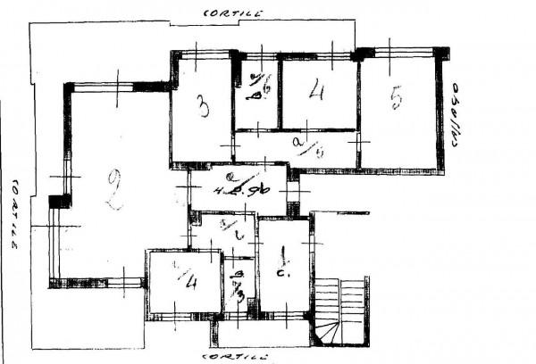 Appartamento in vendita a Milano, Don Gnocchi, Con giardino, 165 mq - Foto 5