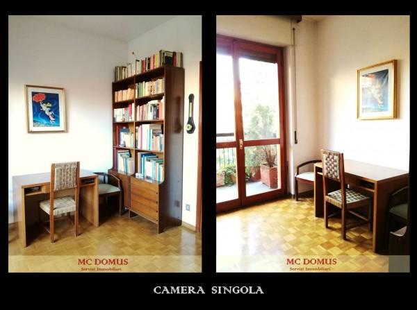Appartamento in vendita a Milano, Don Gnocchi, Con giardino, 165 mq - Foto 19
